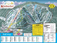 Kimberley Ski Trail Map