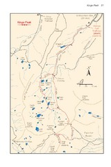 Kings Peak Trail Map