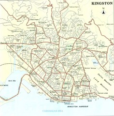 Kingston Street Map
