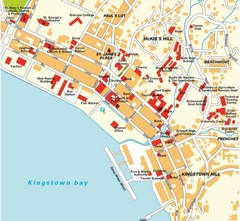 Kingstown city Map