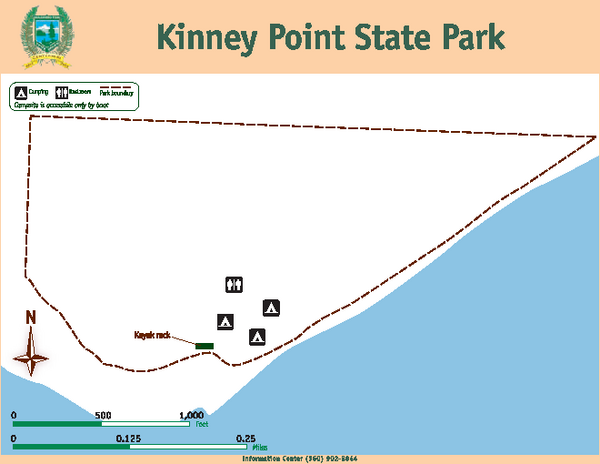Kinney Point State Park Map