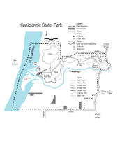 Kinnickinnic State Park Map