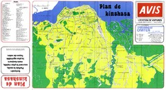 Kinshasa City Map