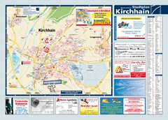 Kirchhain Tourist Map