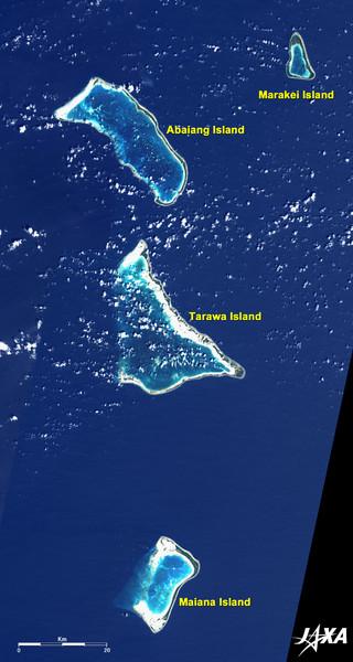 Kiribati Islands Map Tarawa Island Kiribati mappery