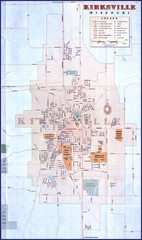 Kirksville City Map
