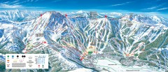 Kirkwood Ski Trail map 2006-07