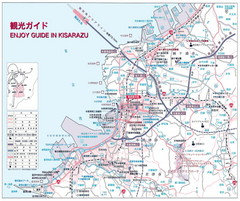 Kisarazu Tourist Map