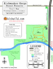 Kishwaukee Gorge Forest Preserve Map