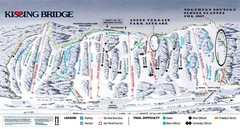 Kissing Bridge Ski Trail Map