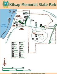 Kitsap Memorial State Park Map