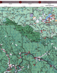 Klamath National Forest Map