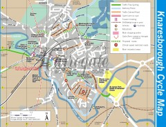 Knaresborough Cycling Map
