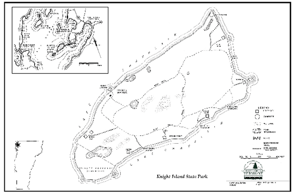 Knight Island State Park Campground Map
