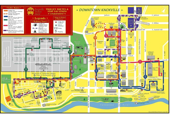 real life map collection mappery – Tourist Map Of Nashville