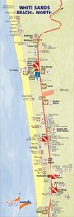 Ko Chang White Sand Beach Tourist Map