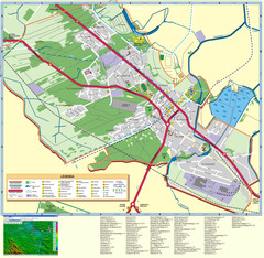 Kocienice_City_Plan-POLAND Map