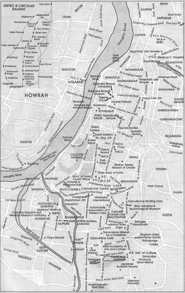 Kolkata Guide Map