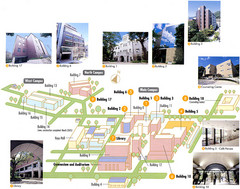 Konan University Campus Map