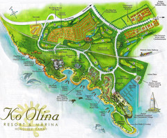 Koolina Resort, Hawaii Tourist Map