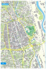 Kosice Tourist Map