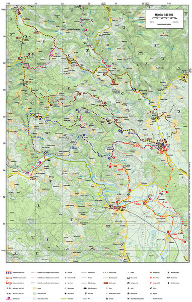 Krašić Bike Trail Map