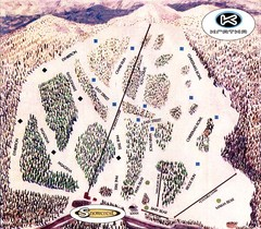 Kratka Ridge Ski Trail Map