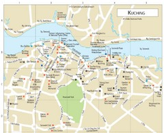 Kuching Guide Map