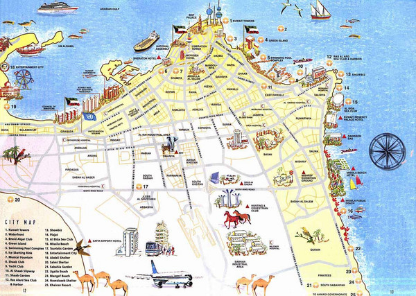 real life map collection mappery – Iran Tourist Attractions Map