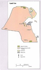 Kuwait Land Use Map