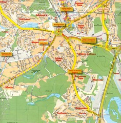 Kyiv City Map