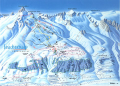 Lötschental (Wiler) Ski Trail Map