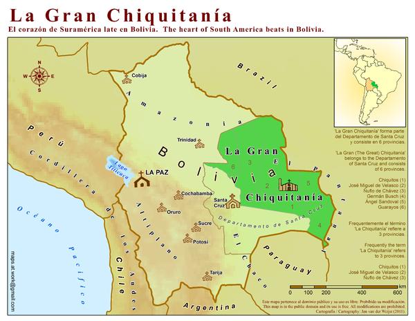 Bolivia maps \u2022 mappery