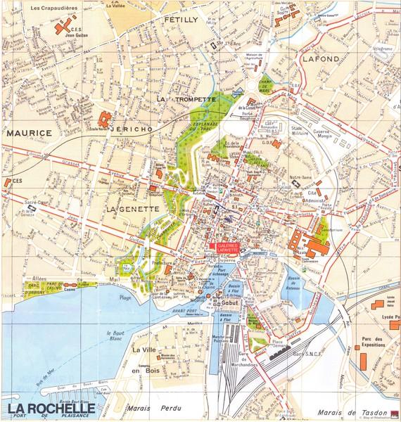 Map Of France La Rochelle.La Rochelle Map La Rochelle France Mappery