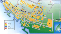 Labuan Town Tourist map