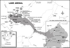 Lake Arenal Map