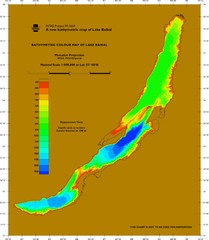 Lake Biakal Water Depth Map