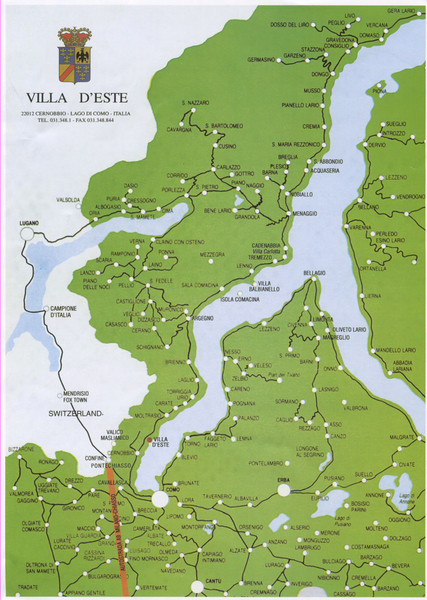 lake como on map of italy Lake Como Map Lake Como Bellagio Italy Mappery lake como on map of italy