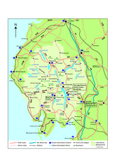 Lake District National Park Map