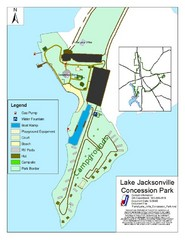 Lake Jacksonville Congression Park Map