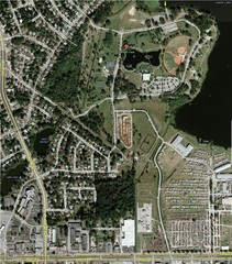 Lake Lawne Satellite Map