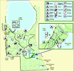 Lake Louisa State Park Map
