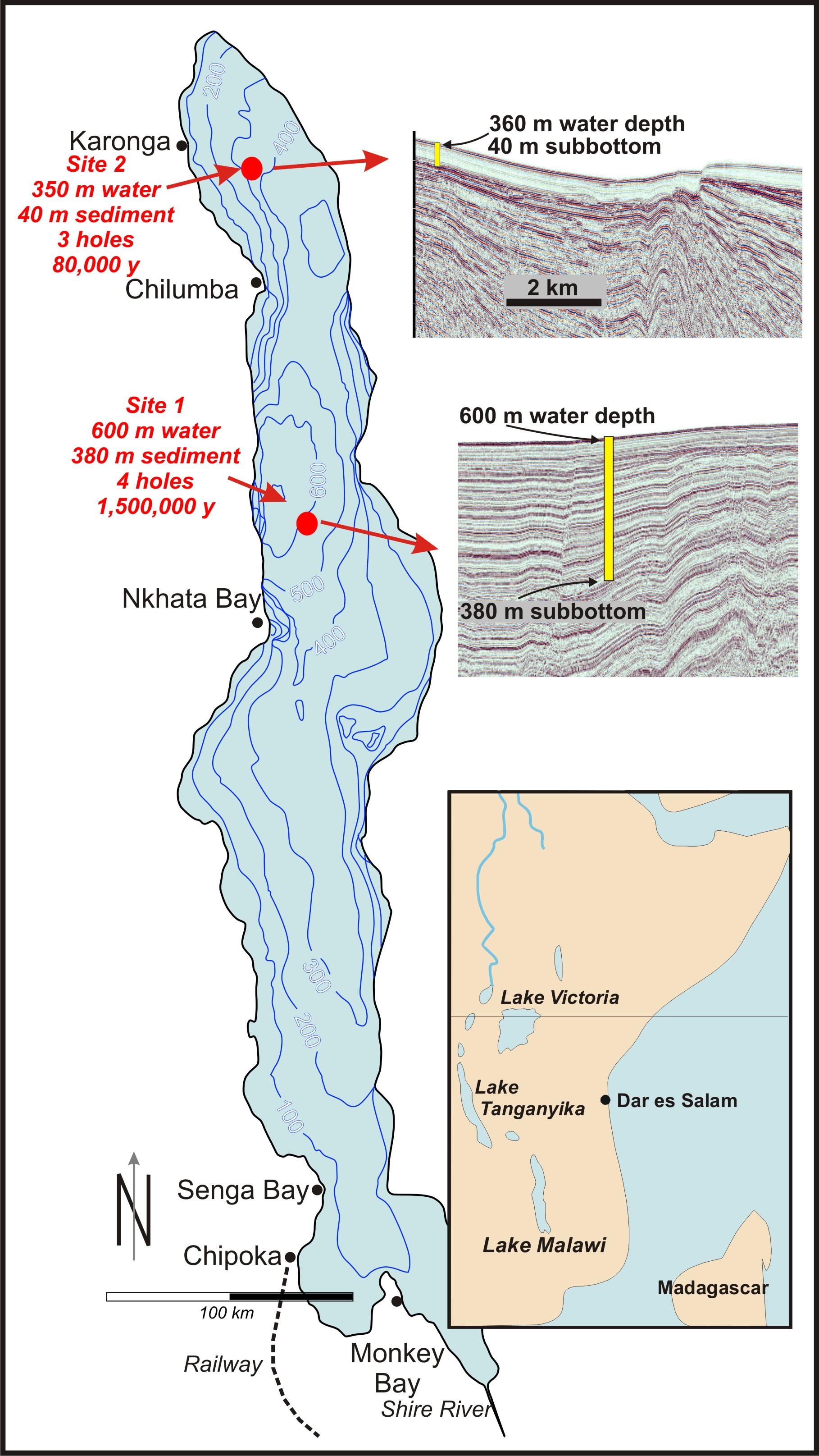 Lake nyasa location