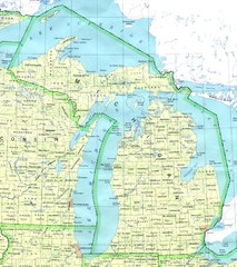 Lake Michigan Map