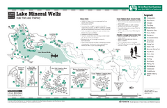 Lake Mineral Wells, Texas State Park Facility...