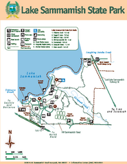 Lake Sammamish State Park Map
