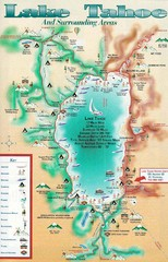 Lake Tahoe and nearby activities Map