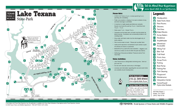 Map Of Texas State Parks Locations Map With All Of Texas