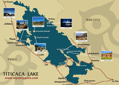Lake Titicaca Map
