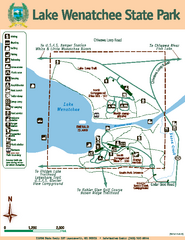 Lake Wenatchee State Park Map